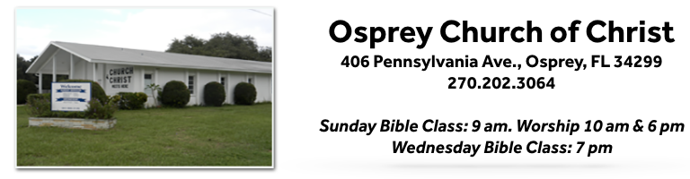 Osprey Church of Christ